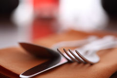Restaurant place setting Stock Photography