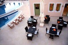 Restaurant pool Stock Photography