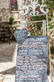 Restaurant in Provence Stock Image