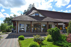 Restaurant Raganas Kekis, Latvia. royalty free stock photos
