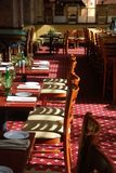 Restaurant ready for diners Royalty Free Stock Photography