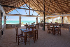 Restaurant of resort Royalty Free Stock Images