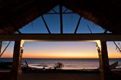 Restaurant of resort Stock Photo