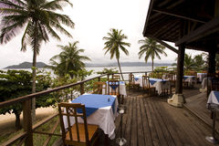 Restaurant resort Stock Photo