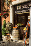 Restaurant in Rome, Italy Royalty Free Stock Photography