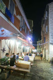 Restaurant in Rovinj Lizenzfreie Stockfotografie
