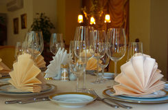 The restaurant's interior Royalty Free Stock Image