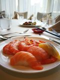 Restaurant& x27; s owoce morza Obraz Royalty Free