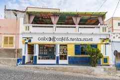 Restaurant Sal Rei Boa Vista stock photos