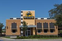 Restaurant sauvage d'ailes de Buffalo Image stock