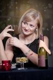 Restaurant scene Stock Image