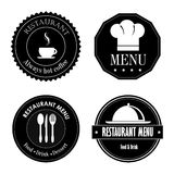 Restaurant seals Stock Photos