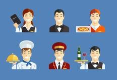 Restaurant service Stock Photo