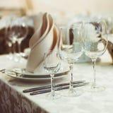 Restaurant serving Royalty Free Stock Photo