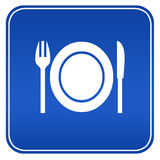 Restaurant sign Royalty Free Stock Photo