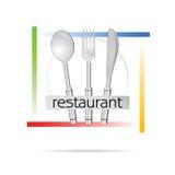 Restaurant sign vector illustration Stock Photo