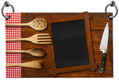 Restaurant Signboard with clipping path Royalty Free Stock Photo