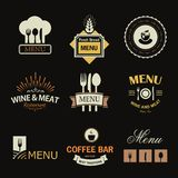 Restaurant signs Royalty Free Stock Image
