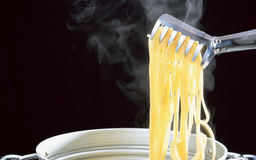 Restaurant spaghetti Royalty Free Stock Photos