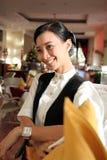 Restaurant staff stock photography