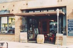 Restaurant storefront  Stock Photo