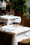 Restaurant on the street. Free restaurant on the street stock photo
