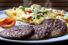 Restaurant style breakfast Stock Images