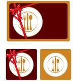 Restaurant symbol Royalty Free Stock Image