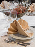 Restaurant Table Royalty Free Stock Image