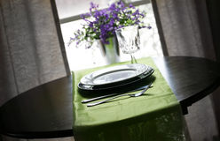 Restaurant Table Royalty Free Stock Photos