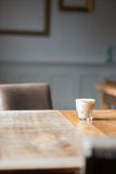 Restaurant table and chairs Royalty Free Stock Image