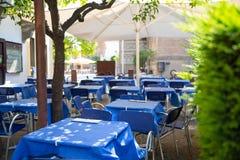 Restaurant tables Royalty Free Stock Photo