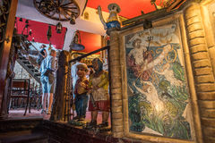 Restaurant in Taormina Royalty-vrije Stock Foto's
