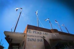 Restaurant tapas bar El Pesquero Stock Image