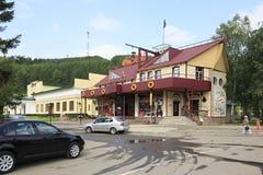 Restaurant Tavern Flibuster in resort Belokurikha Royalty Free Stock Photography