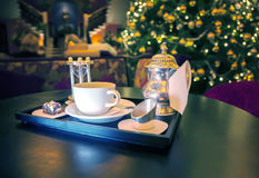 Restaurant tea Royalty Free Stock Images