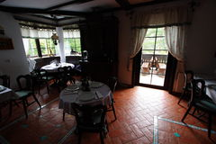 Restaurant traditionnel de tiroler Image stock