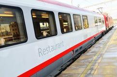 Restaurant train wagon Royalty Free Stock Images