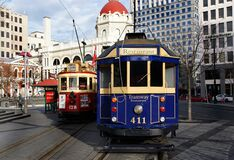 The Restaurant Tram  2 Royalty Free Stock Image