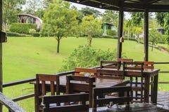 Restaurant und Erholungsort Stockfoto