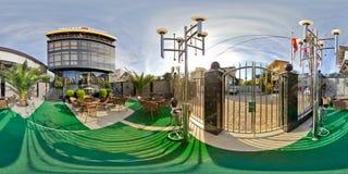 Restaurant-und Hotel komplexes königliches Sochi, Adler-Bezirk Lizenzfreie Stockfotografie