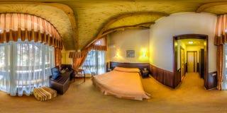 Restaurant- und Hotelkomplex Schiefer Sochi, Adler-Bezirk Lizenzfreies Stockbild