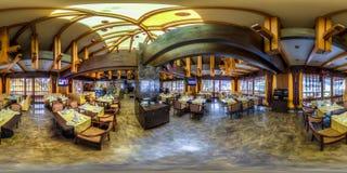 Restaurant- und Hotelkomplex Schiefer Sochi, Adler-Bezirk Stockbild