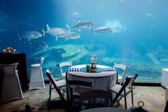 Restaurant unter dem Meer Lizenzfreies Stockfoto