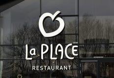 Restaurant V et D d'endroit de La Images stock