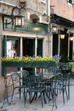 Restaurant in Venice Stock Photography