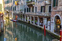A Restaurant in Venice, Italy Stock Images