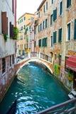restaurant Venise de canal Photographie stock