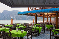 Restaurant verandah Stock Photography