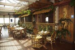 Restaurant vide Photographie stock